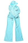 NEW Old Navy Toddler Girl's Pant Set 6-7 Blue / Print