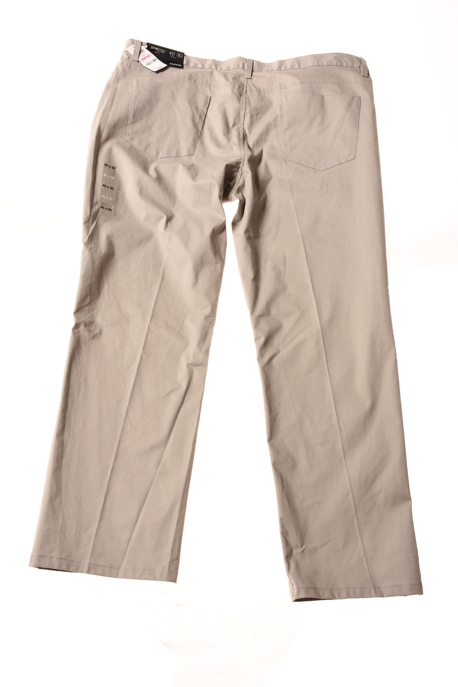 NEW Alfani Men's Pants 40 Silver