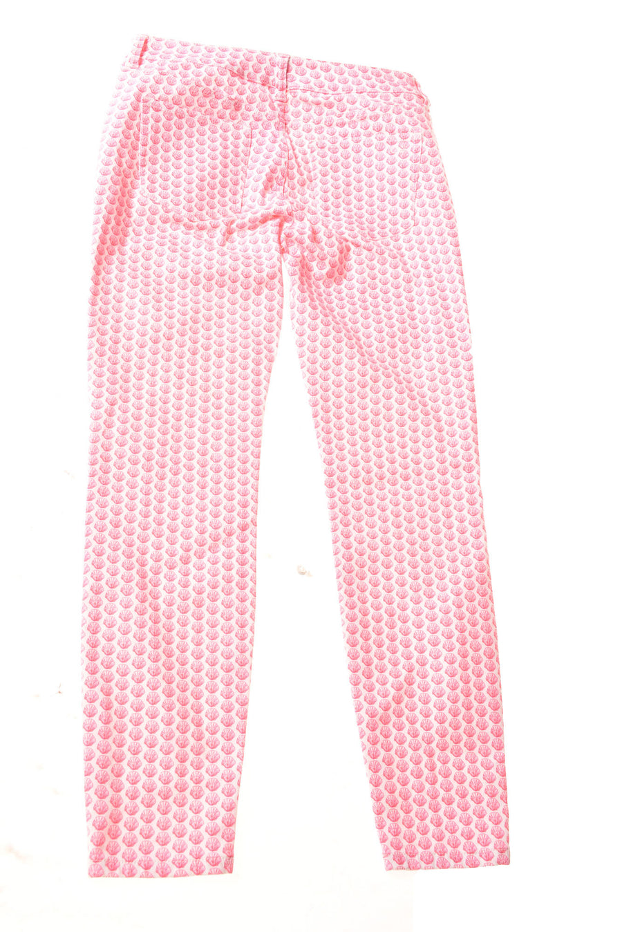 USED Vineyard Vines Women's Jeans 4 Pink / Print
