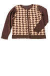 NEW Chadwicks of Boston Women's Sweater Large Brown