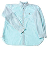 USED Ralph Lauren Men's Shirt Large Blue
