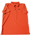 USED Under Armour Boy's Shirt X-Large Orange & Blue
