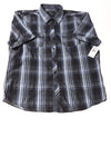 NEW 7 Diamonds Men's Shirt XX-Large Blue / Plaid