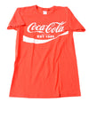 USED Coca Cola Men's Shirt Medium Red