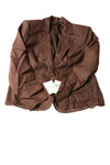 NEW Style & Co. Women's Blazer 16 Coffee Bean