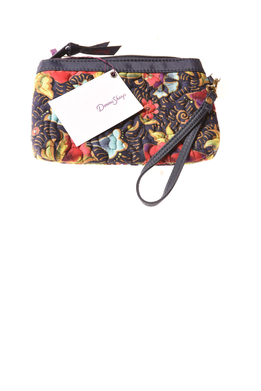 NEW Donna Sharp Women's Handbag N/A Navy Floral