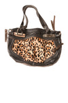 USED Markowski Women's Handbag N/A Black / Animal Print