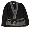 USED Michael Kors Women's Cardigan Medium Black & White