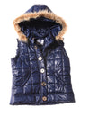 USED Justice Girl's Vest 12 Blue