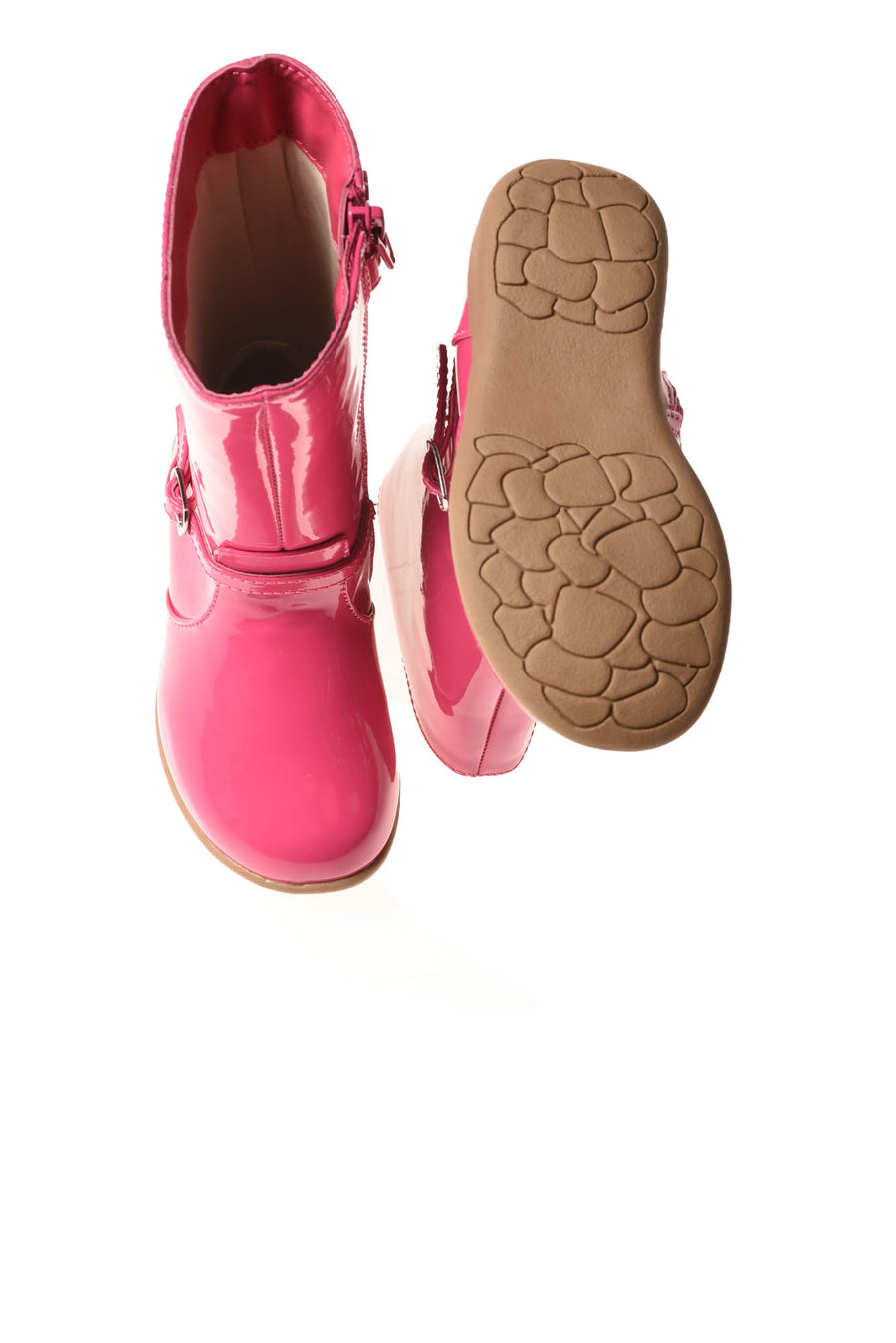 USED No Brand Toddler Girl's Boots Pink 5