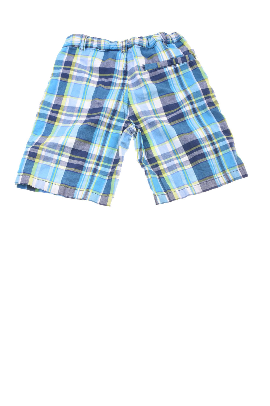 USED Nautica Toddler Boy's Shorts 3T Blue, Green, & White