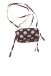 USED Vera Bradley Women's Wallet Handbag N/A Black, Pink, Red, & White
