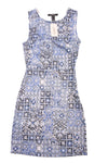 NEW Forever 21 Women's Dress  Small Blue & White