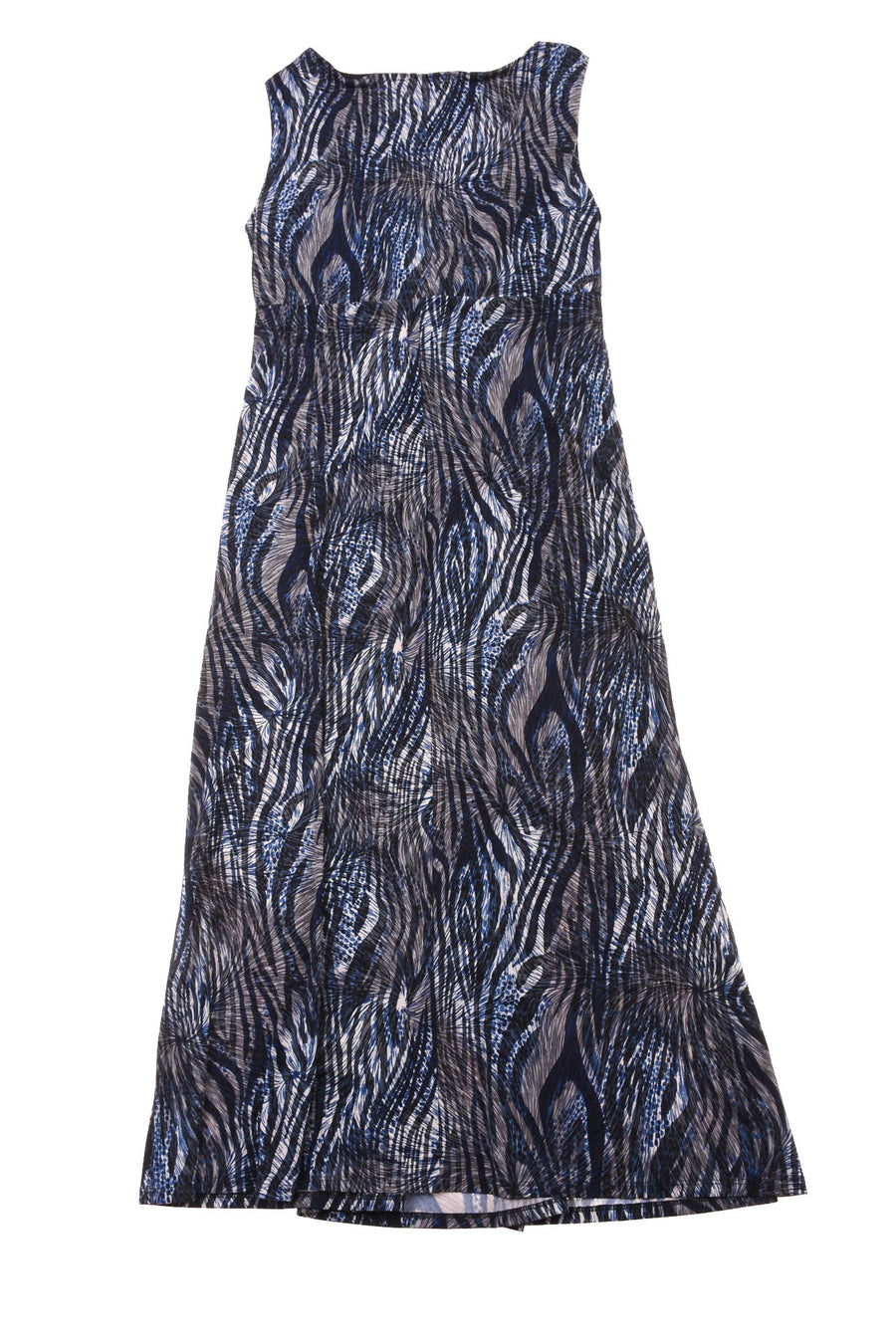 NEW Christopher & Banks Women's Dress  6 Blue & Black