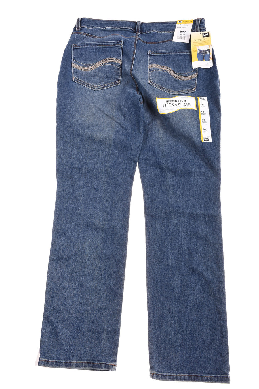 NEW Lee Women's Jeans 14 Blue