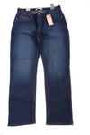 NEW 512 Women's Plus Pants 18 Blue