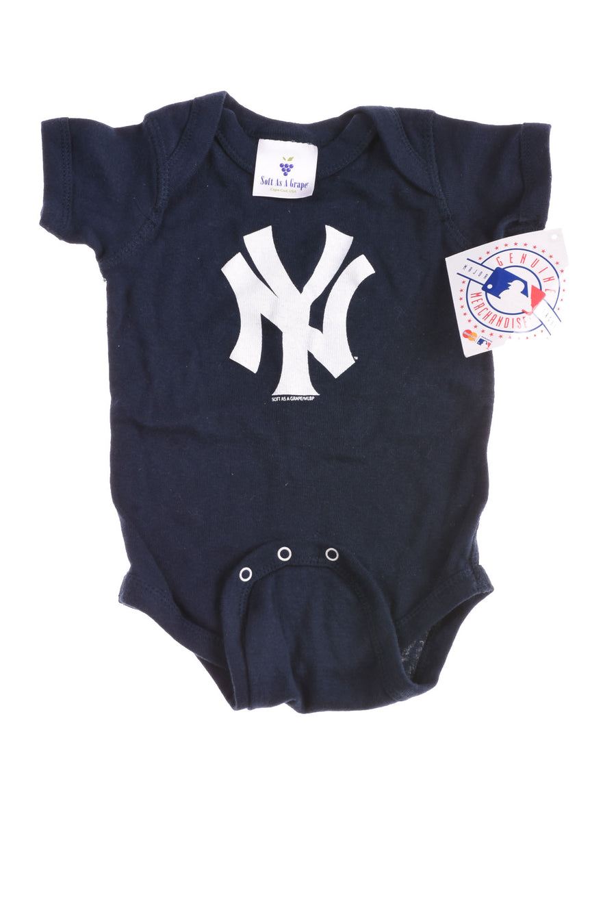 Baby Boy's New York Yankees Body Suit By Soft As A Grape