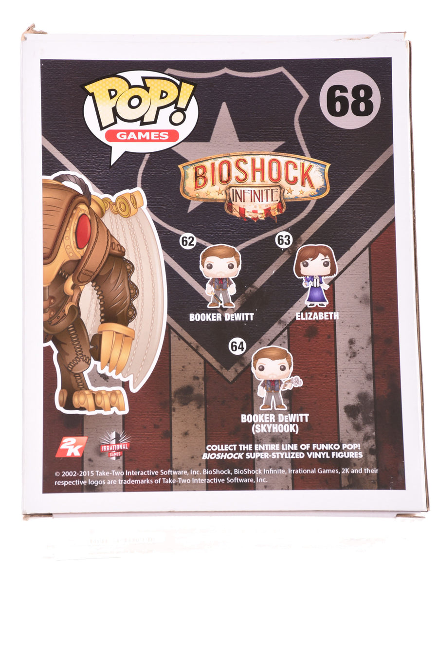NEW Funko Bioshock Infinite Figure N/A N/A