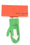 NEW Kate Spade Women's Gloves N/A Green & White