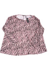 NEW Jones New York Women's Plus Top 3X Black & Pink