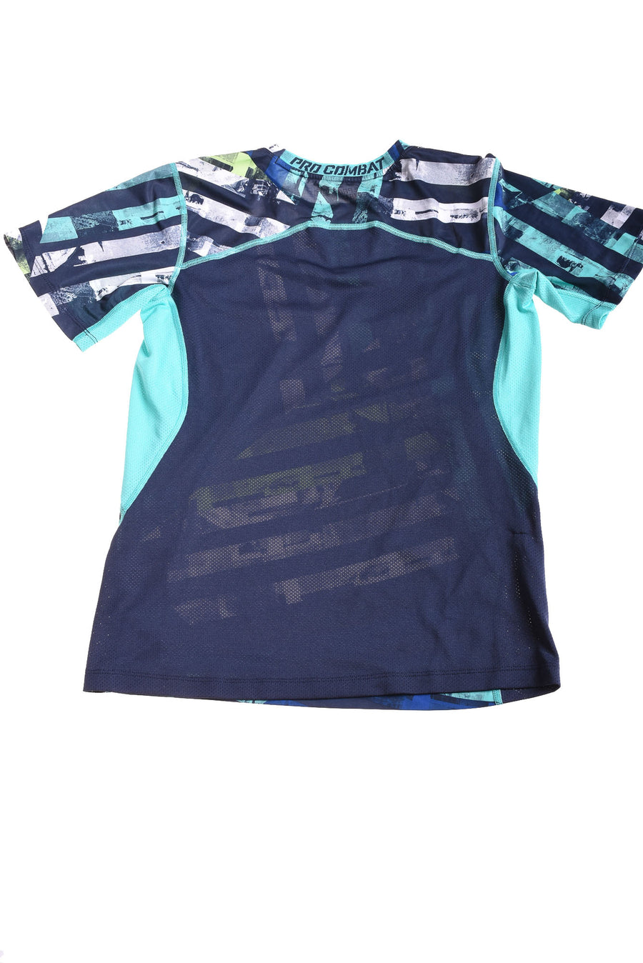 USED Nike Boy's Shirt Large Blue & White