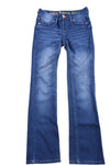 USED Justice Jeans Girl's Jeans 12 Regular Blue
