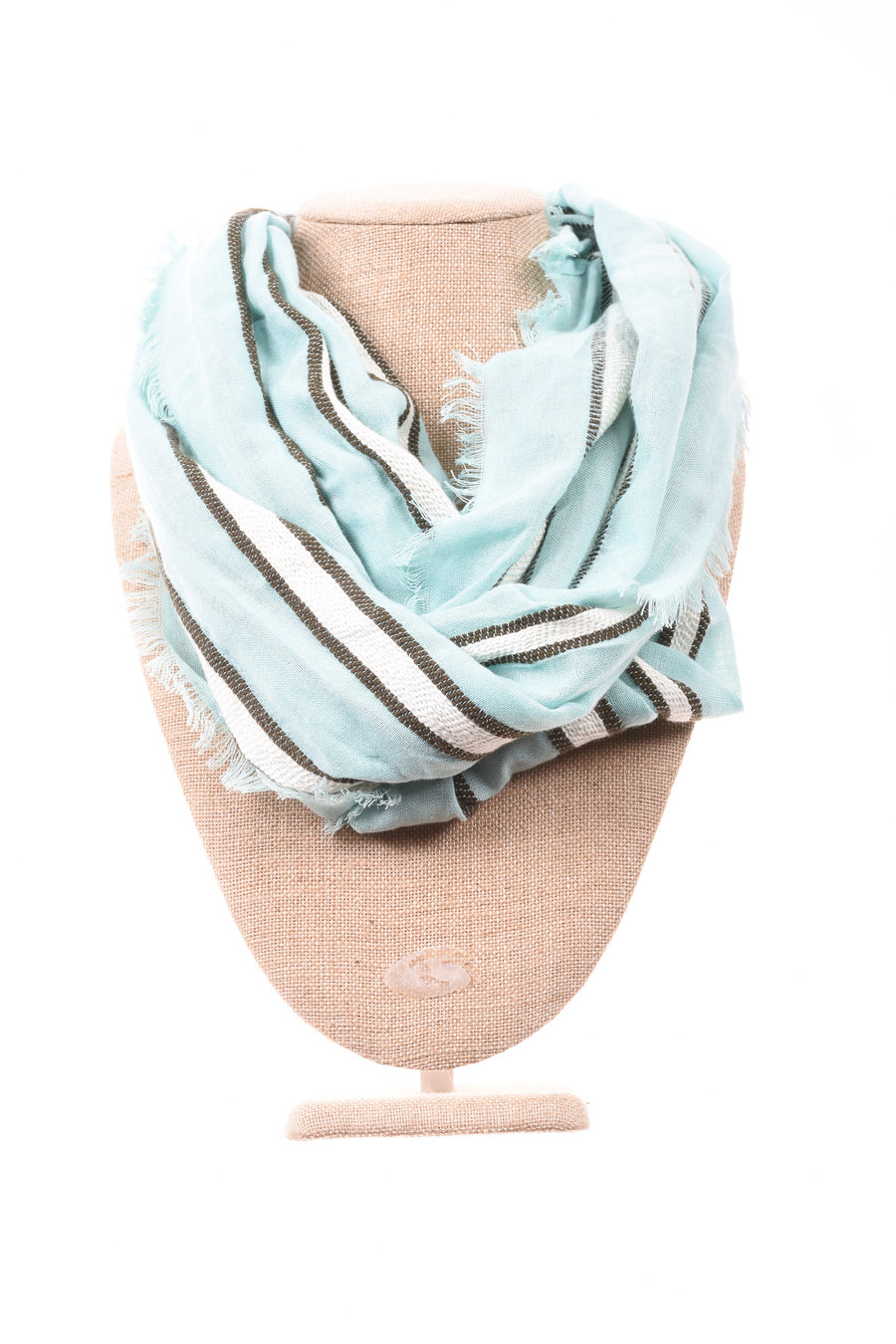 USED Ecote' Women's Scarf One Size Blue & Green