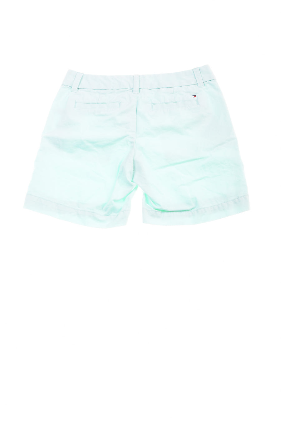 USED Tommy Hilfiger Women Shorts 00 Mint Green