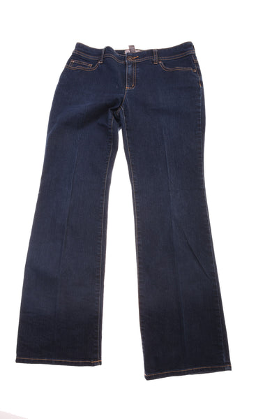 USED Chico's Women's Jeans  0 Blue