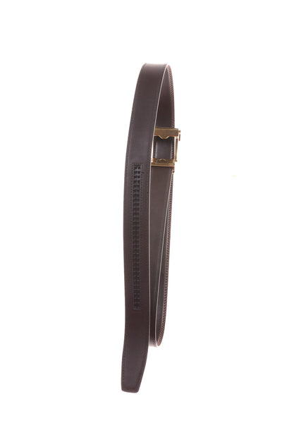 USED  No Brand Men's Belt 51 Brown