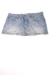 USED  Abercrombie & Fitch Women's Skirt 8 Blue
