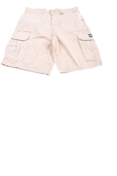 NEW Aeropostale Men's Shorts 33 Beige
