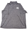 USED Majestic Men's New York Yankees Shirt X-Large Gray