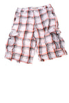 USED Urban Pipeline Boy's Shorts 16 White, Gray, & Red