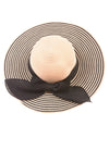 USED The Hatter Company Women's Hat One Size Tan & Black