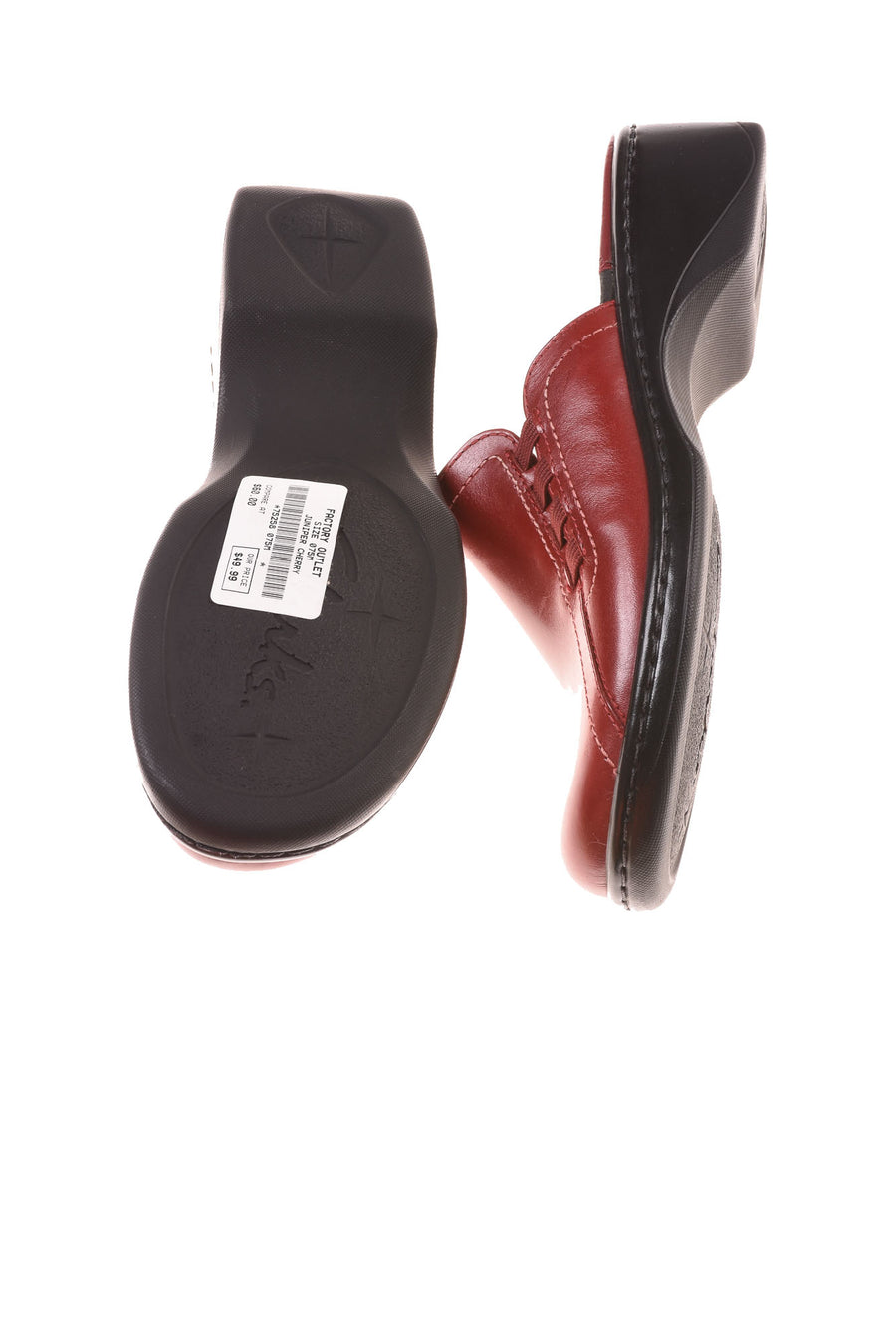 USED Clarks Women's Shoes 7.5 Cherry Juniper
