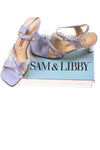 USED Sam & Libby Women's Shoes 7.5 Lavender