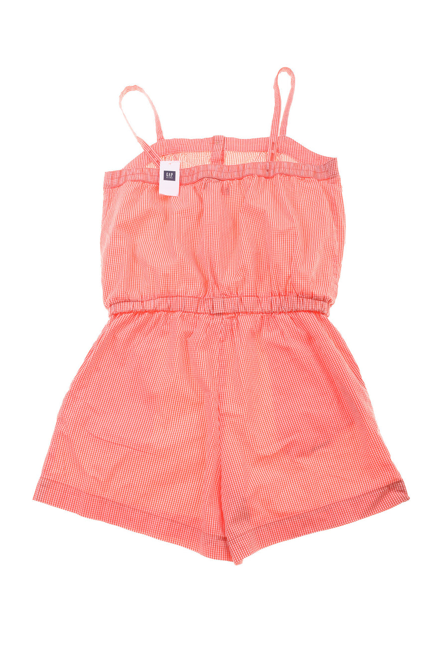 NEW Gap Kids Girl's Romper Large Orange