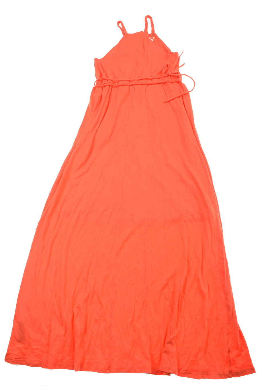 USED Ralph Lauren Women's Dress Medium Orange
