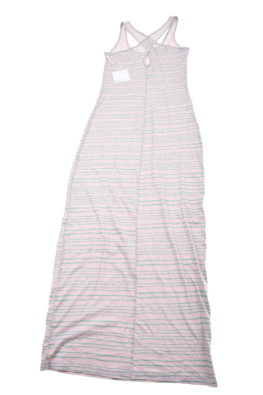 NEW Lucca Couture Women's Dress Small Gray & Green