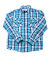 USED Urban Pipeline Boy's Shirt  Large Blue & White