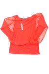NEW Joseph A. Women's Top Large Red