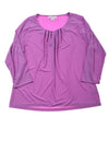 USED Liz Claiborne Women's Top X-Large Purple