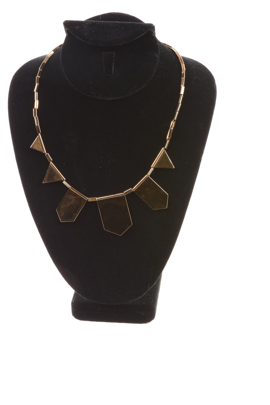 USED House Of Harlow Necklace N/A Blue, Green, & Gold Tone