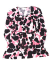NEW Worthington Women's Top Large Pink & Black