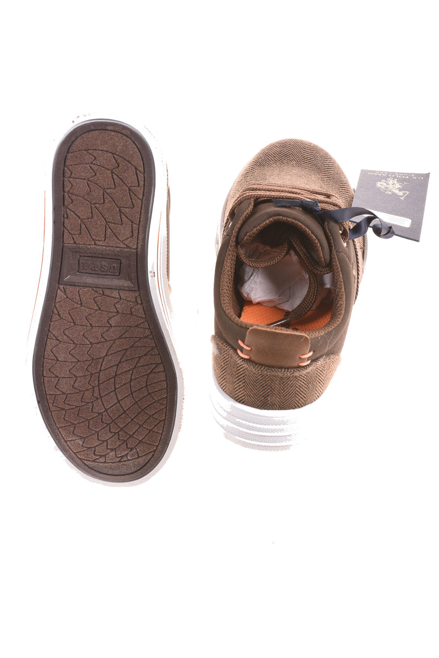 NEW U.S. Polo Assn. Boy's Shoes 11 Brown