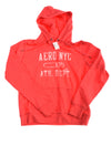 NEW Aeropostale Women's Pullover Hoodie Medium Red