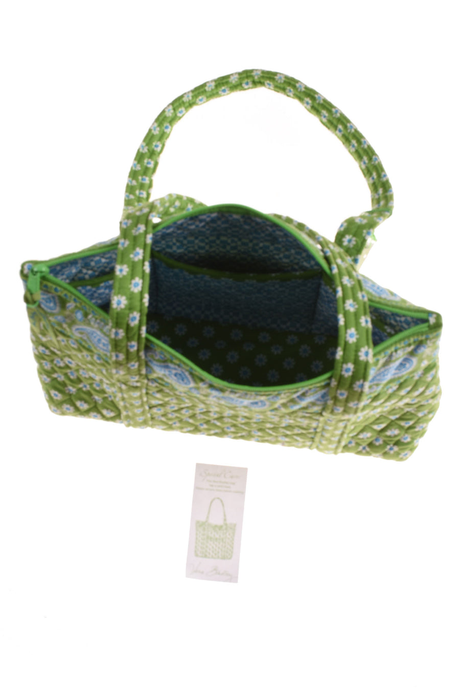 NEW Vera Bradley Women's Handbag N/A Betsy Apple Green