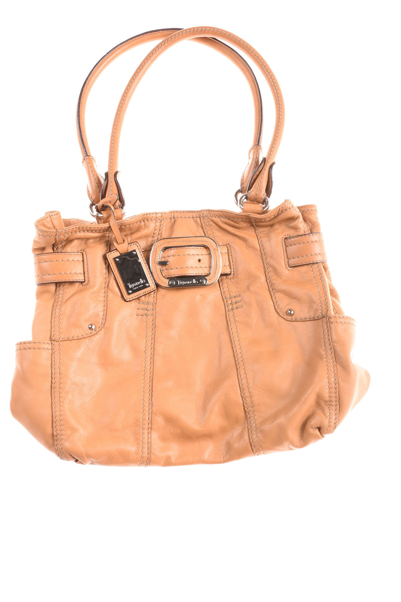 3d4f7b350b USED Tignanello Women s Handbag N A Tan - Village Discount Outlet