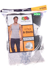 NEW Fruit Of The Loom Men's Shirt Small Gray & Black